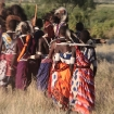 Maasai warriors, Shompole, Kenya
