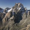 Mount Kenya on equator