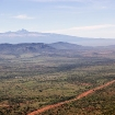 Mount Kenya viewed from north