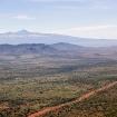 Mount Kenya viewed from north