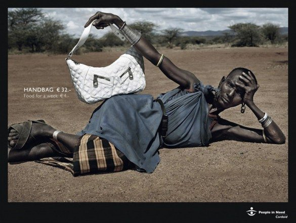 advertising, campaign, african, 3rd world, 1st world, products