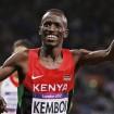 Ezekiel Kemboi wins steeplechase gold