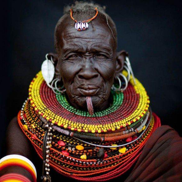 turkana, turkana tribe, kenya, turkana portraits, Eric Lafforgue, photography, african jewellery, turkana jewellery