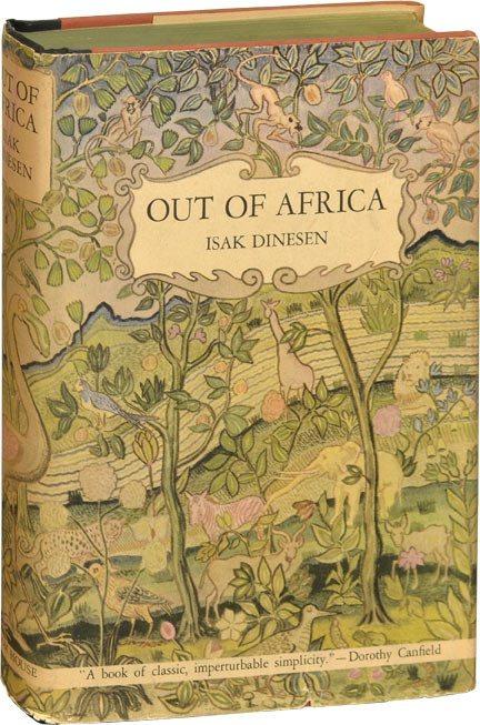 out of africa, book, book design, book cover, isak dinesen, karen blixen, ngong hills, kenya, masaai