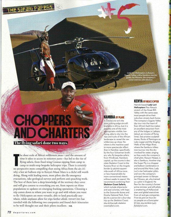 departures magazine, october, lady lori,